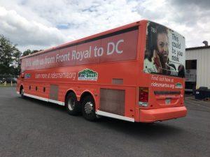 VDOT Bus Wrap